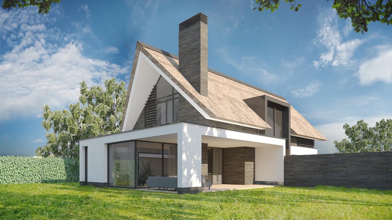 2architecten architectenbureau eindhoven for Moderne strakke huizen